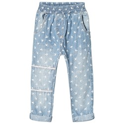 Hust&Claire Trousers Washed Denim