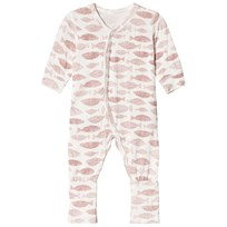 Hust&Claire Baby bodysuit Dusty Rose Dusty Rose