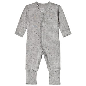 Image of Hust&Claire One-Piece Light Grey Melange 62 cm (2-4 mdr) (2965219693)