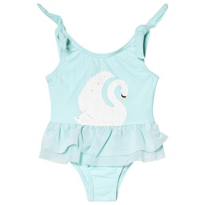 Image of Snapper Rock Pale Blue Swan Tulle Swimsuit 18-24 months (2965219119)