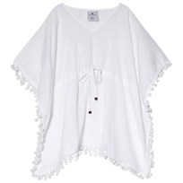 Snapper Rock White Batwing Kaftan White
