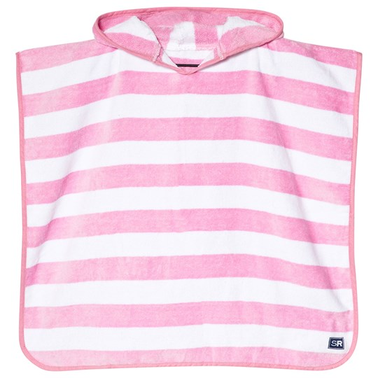 Snapper Rock - Pink and White Stripe Hooded Towel - Babyshop.com 04ae3fe4a