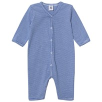 Petit Bateau Blue Striped One-Piece PERSE/ECUME
