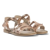 Mayoral Pink and Rose Gold Patent Sandals 19