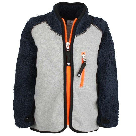 Molo Rock Fleece Grey Black