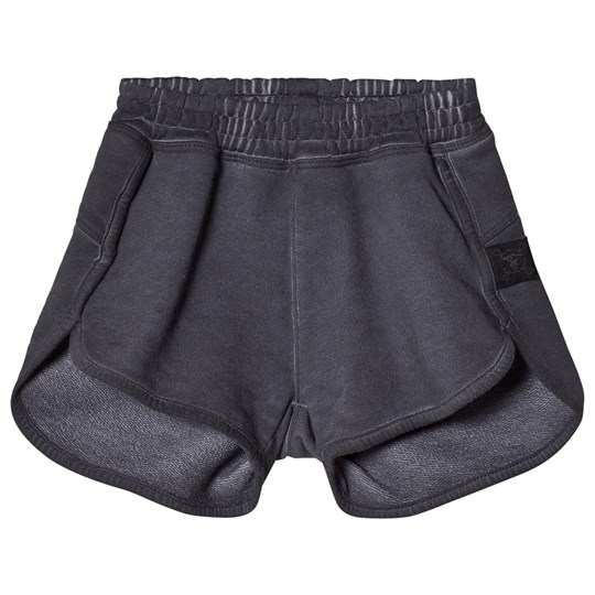 NUNUNU Dyed Gym Shorts Dyed Graphite Dyed Graphite
