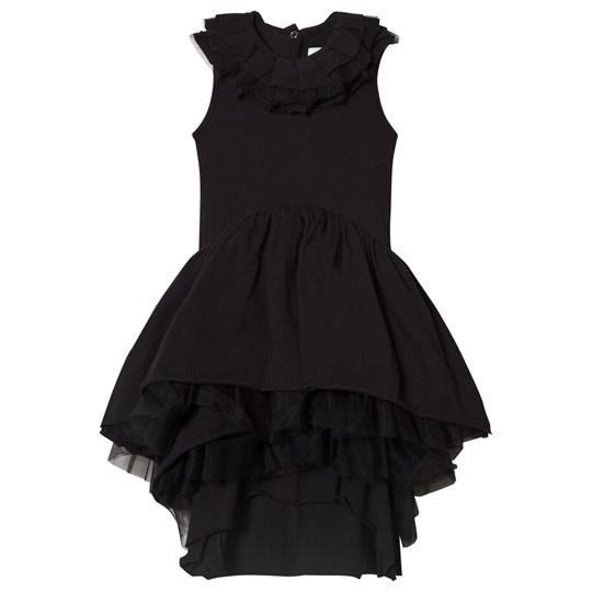 NUNUNU Victorian Dress Black Black