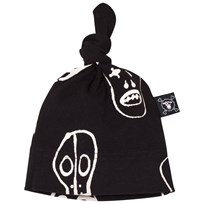 NUNUNU Skull Mask Hat Black Black