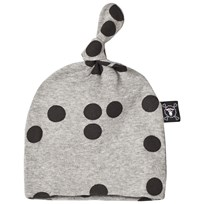 NUNUNU Braille Hat Heather Grey Harmaa