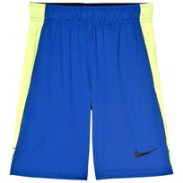 NIKE Blue and Volt Shorts 405