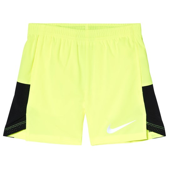 NIKE Volt and Black Nike Challenger Shorts 703