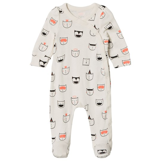 GAP Kittens Footed Baby Body Ivory Frost IVORY FROST