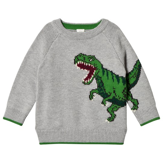 Gap Dino Crew Sweater Charcoal Grey CHARCOAL GREY B20