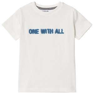 Image of One We Like One With All One T-Shirt Cloud White 10 år (2968931843)