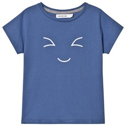 One We Like Happy Pop T-shirt Dutch Blue