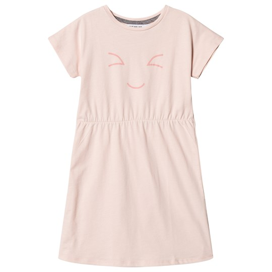 One We Like Happy Pop Dress Soft Pink Softpink