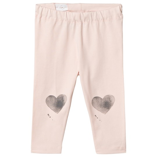 One We Like Heart Leggings Soft Pink Softpink