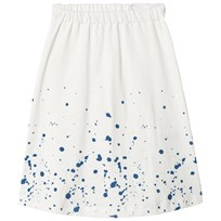One We Like Splash Long Skirt Cloud White Cloudwhite
