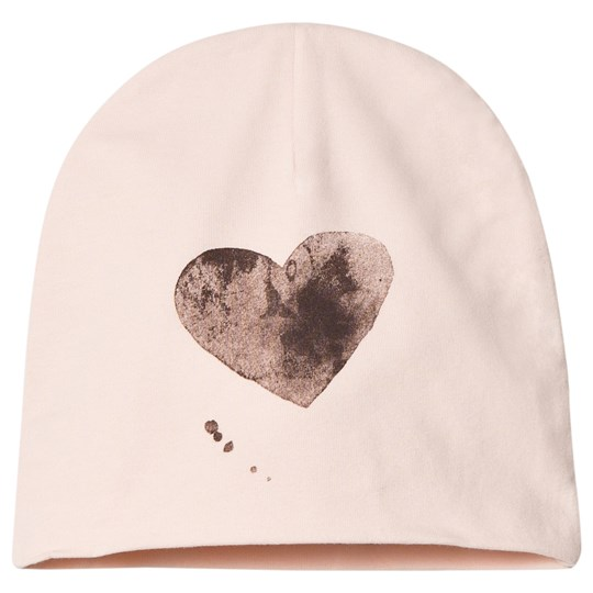 One We Like Heart Hat Soft Pink Softpink