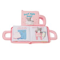 oskar&ellen Good Night Book Pink English Pink