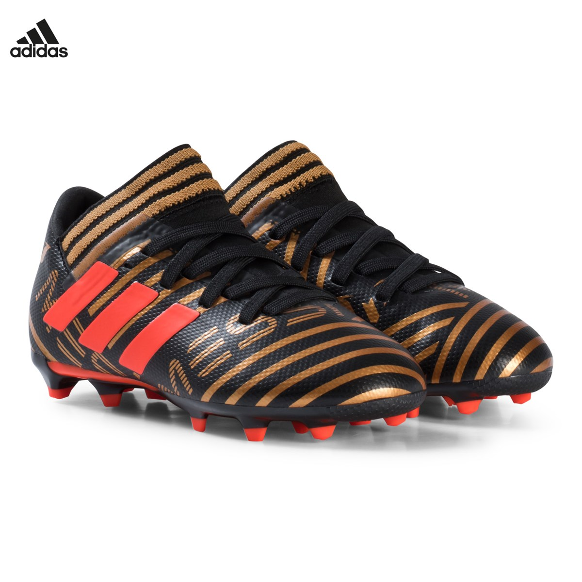 wholesale dealer 412bf dedf4 gold nemeziz messi 17.3 firm ground fotbollsskor adidas performance