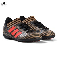 adidas Performance Gold Nemeziz Messi Tango 17.3 Turf Soccer Boots CORE BLACK/SOLAR RED/TACTILE GOLD MET. F17