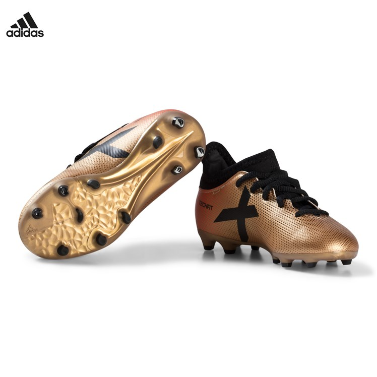 adidas Performance Black, Gold and Red X 17.3 Firm Ground