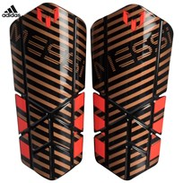 adidas Performance Gold Messi 10 Youth Shin Guards TACTILE GOLD MET. F17/BLACK/SOLAR RED