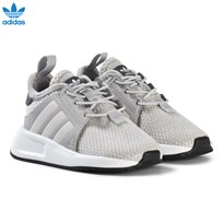 adidas Originals Grey X PLR Infants Trainers GREY TWO F17/ORCHID TINT S18/FTWR WHITE