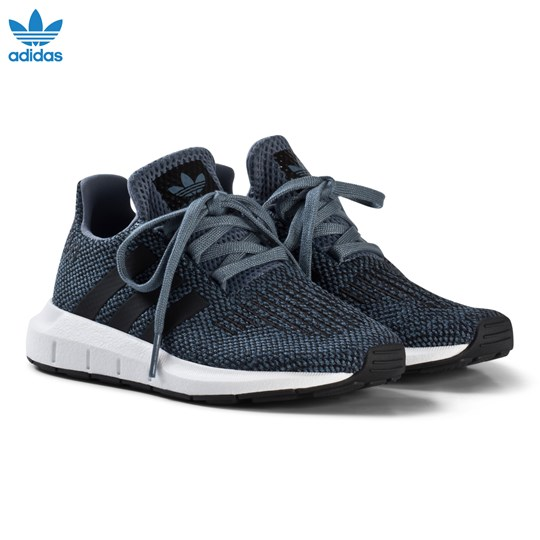 2c6f0e9531999 adidas Originals - Blue Steel Swift Run Kids Trainers - Babyshop.com