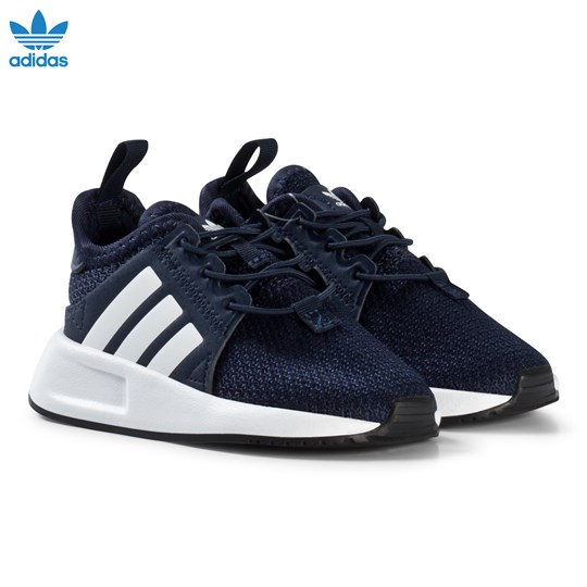 adidas Originals Navy X PLR Infants Trainers COLLEGIATE NAVY/FTWR WHITE/FTWR WHITE