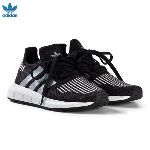 and Silver Swift Run Kids Trainers