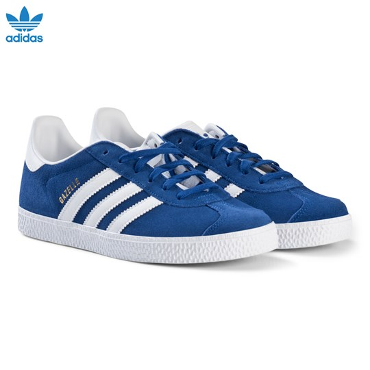 reputable site 351e8 16ad1 adidas Originals Blue Gazelle Junior Trainers COLLEGIATE ROYALFTWR  WHITEFTWR WHITE