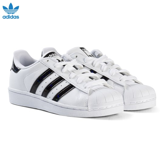 adidas superstar black junior