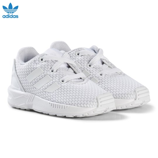 adidas Originals ZX Flux Infants Sneakers Vit FTWR WHITE/FTWR WHITE/FTWR WHITE