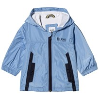 BOSS Pale Blue Branded Windbreaker 77K