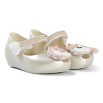 Mini Melissa White Unicorn Ultragirl Shoes 50482