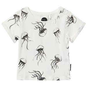Image of Sproet & Sprout White Jellyfish Print Tee 62-68 (3-6 months) (2968933025)