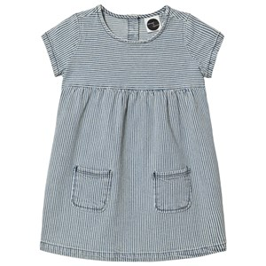Image of Sproet & Sprout Blue and White Denim Stripe Dress 122-128 (7-8 years) (2968925145)