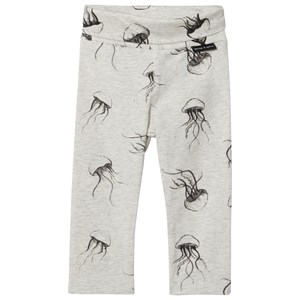 Image of Sproet & Sprout Cream Marl Jelly Fish Leggings 62-68 (3-6 months) (2968925203)