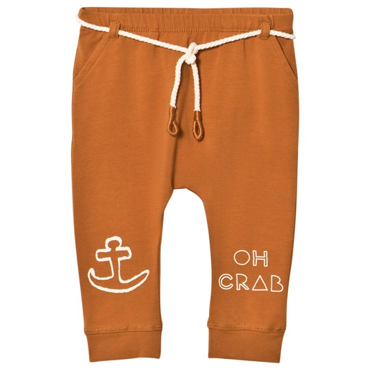 Sproet & Sprout Rust Oh Crab Soft Pants Rust