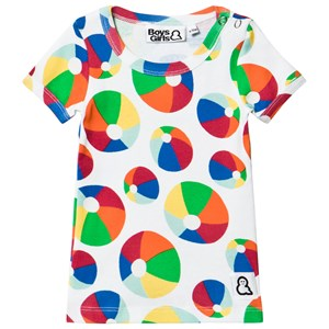 Image of Boys & Girls Bouncy Tee Multi 6-12 months (2968927279)