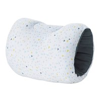 Candide Arm Pillow in Triangle Grey