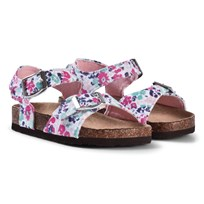 Tom Joule Floral Double Strapped Sandals Pretty Ditsy