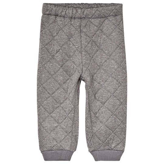 Wheat Alex Thermo Pants Melange Grey Melange Grey