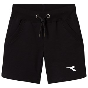 Image of Diadora Black Branded Sweat Shorts M (10 years) (2969779257)