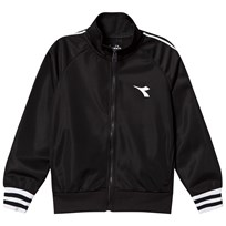 Diadora Black Tech Fabric Branded Jacket 110