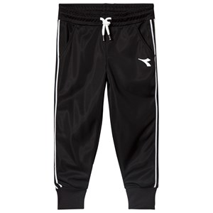 Image of Diadora Black Tech Fabric Branded Track Bottoms XL (14 years) (2969779555)