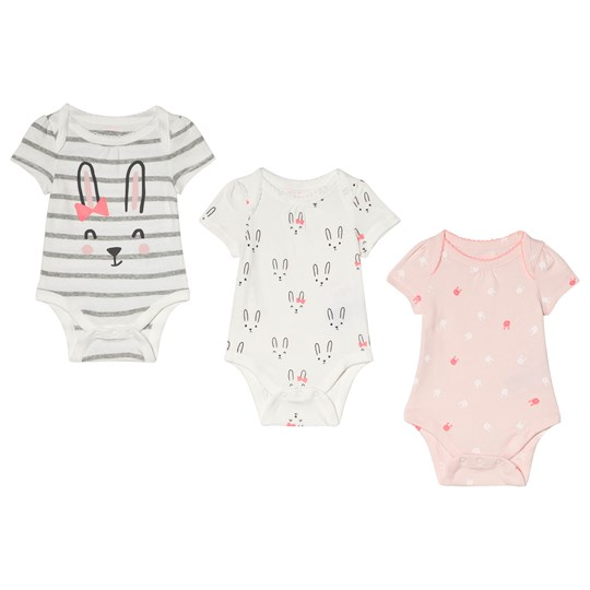 GAP Cuddle and Play Baby Body 3-Pack NEW OFF WHITE