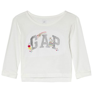 Image of GAP Embroidery T-shirt New Off White 18-24 mdr (1074259)